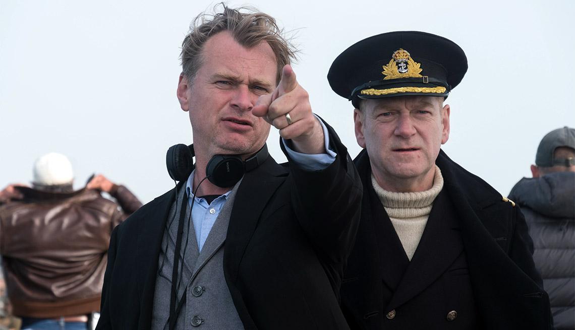 item 13 of Gallery image - Christopher Nolan director of Dunkirk