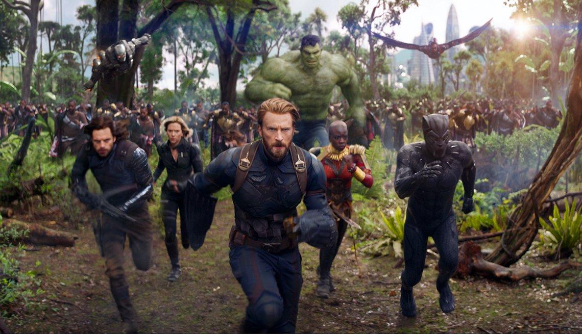 """item 7, Gallery image. Superheroes in """"Avengers: Infinity War"""""""