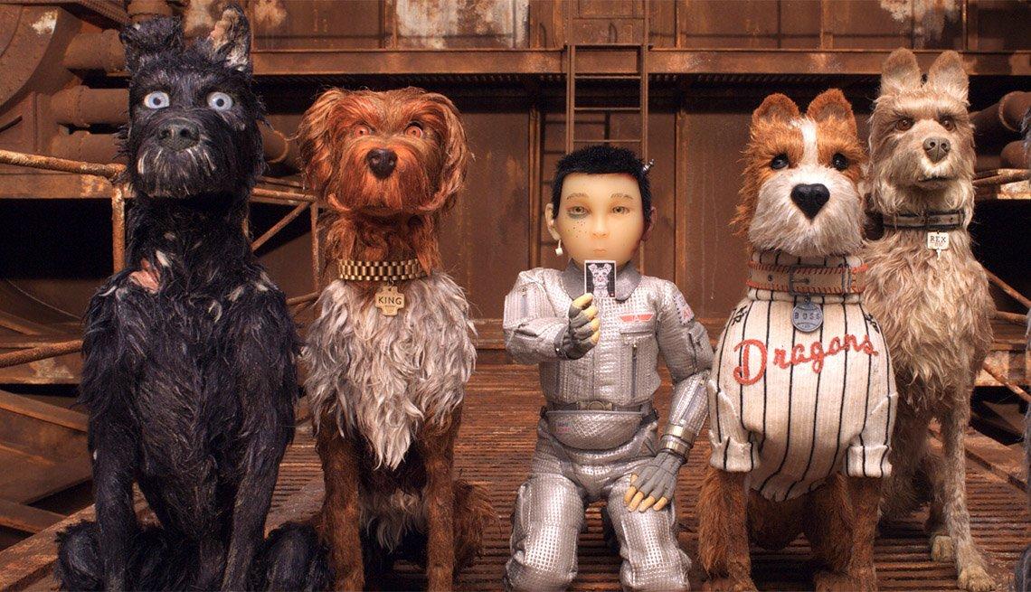 item 2, Gallery image. Characters from left: Chief, King, Atari Kobayashi, Boss and Rex