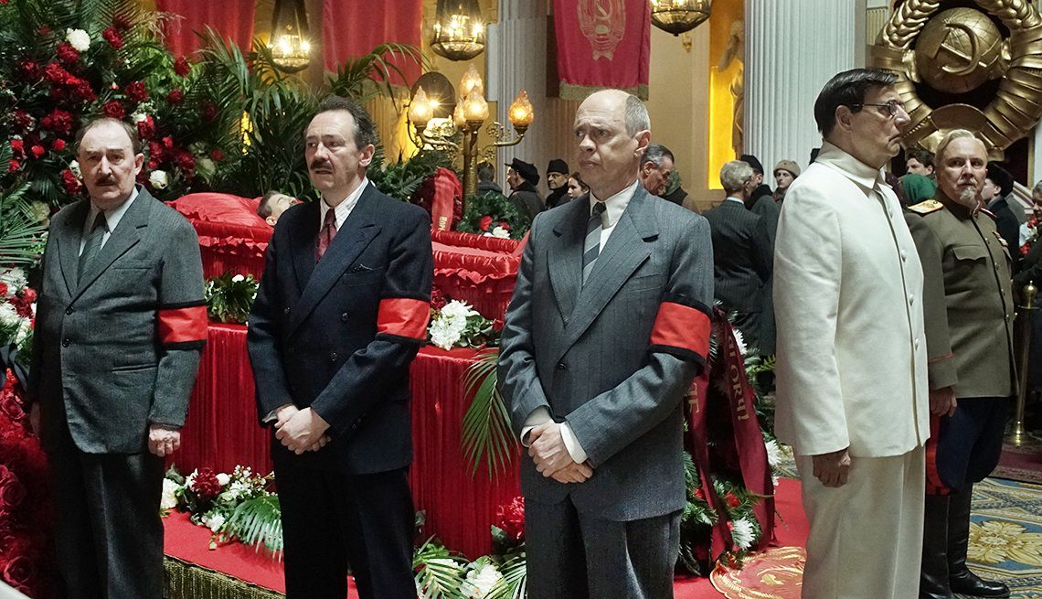 Escena de la película The Death of Stalin