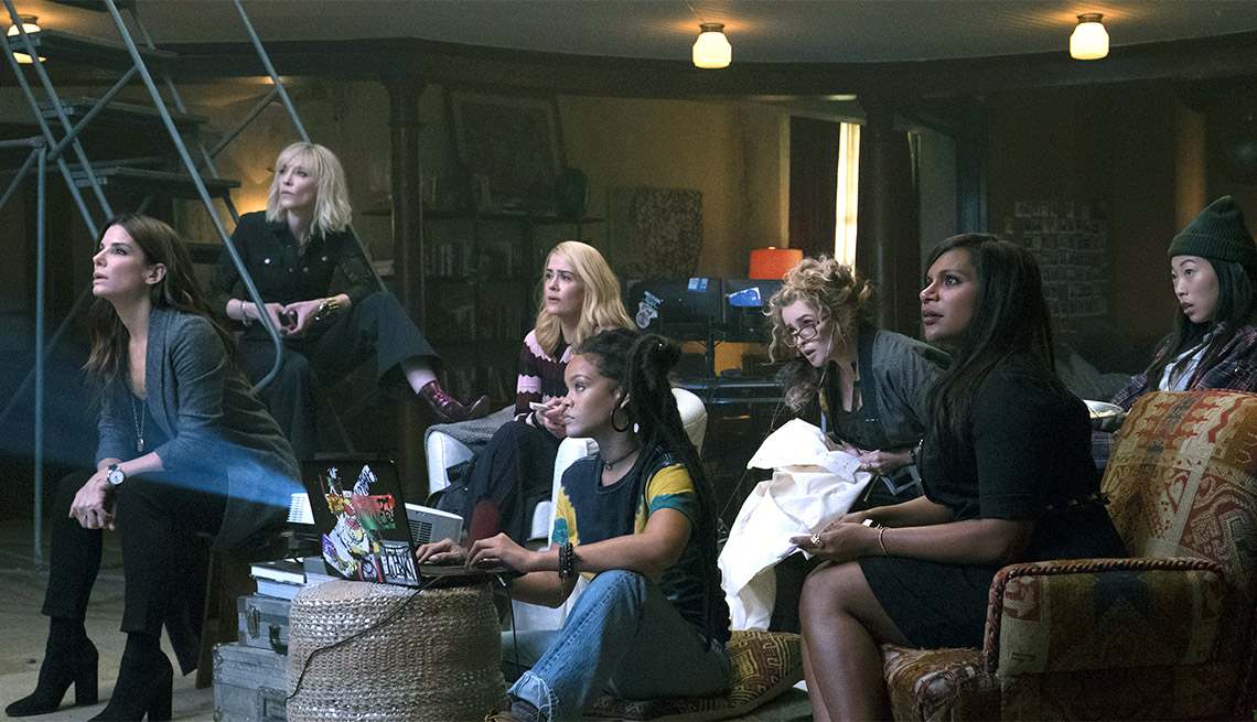 The cast of 'Oceans 8'
