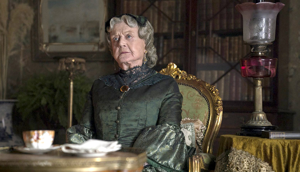Image result for angela lansbury aunt march in little women