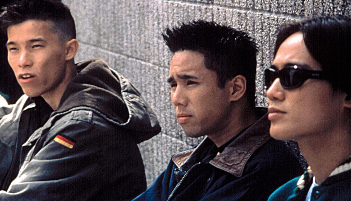 Jason Tobin, Parry Shen, Roger Fan in a scene from Better Luck Tomorrow