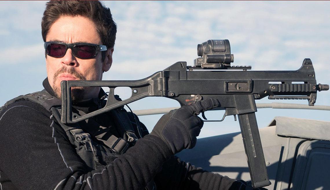 Benicio del Toro en una escena de Sicario: Day of the Soldado