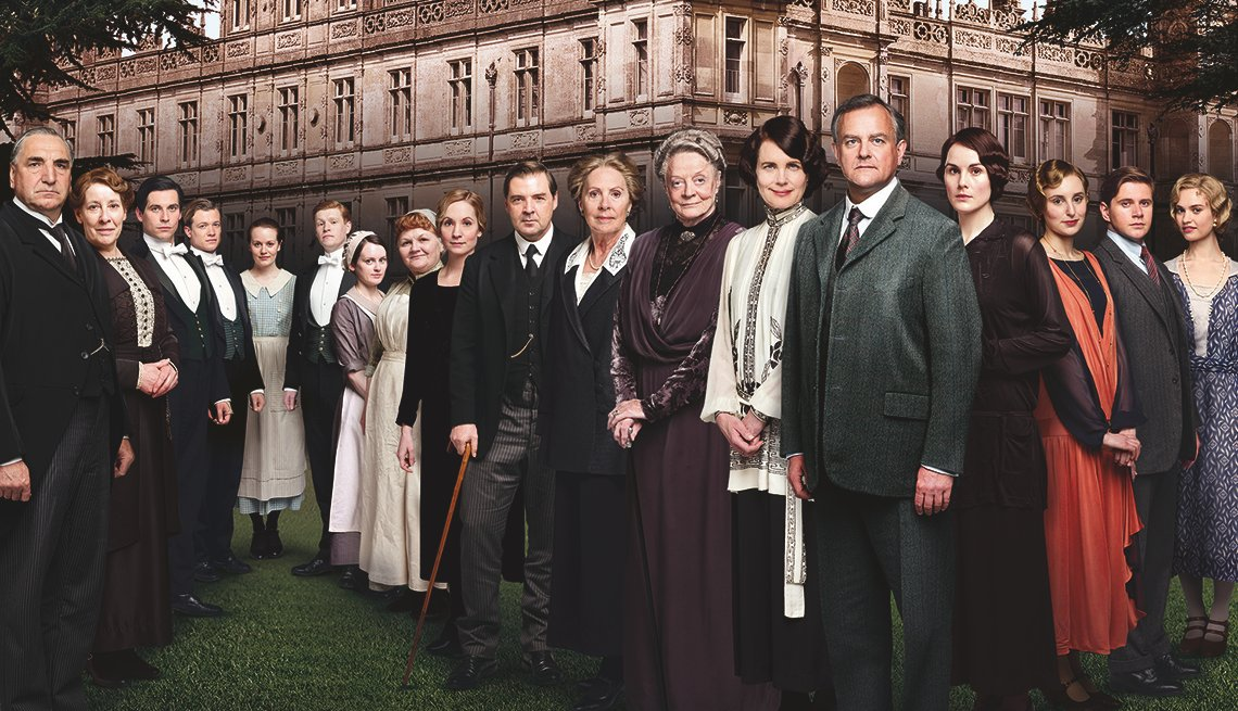 A group shot of the cast of