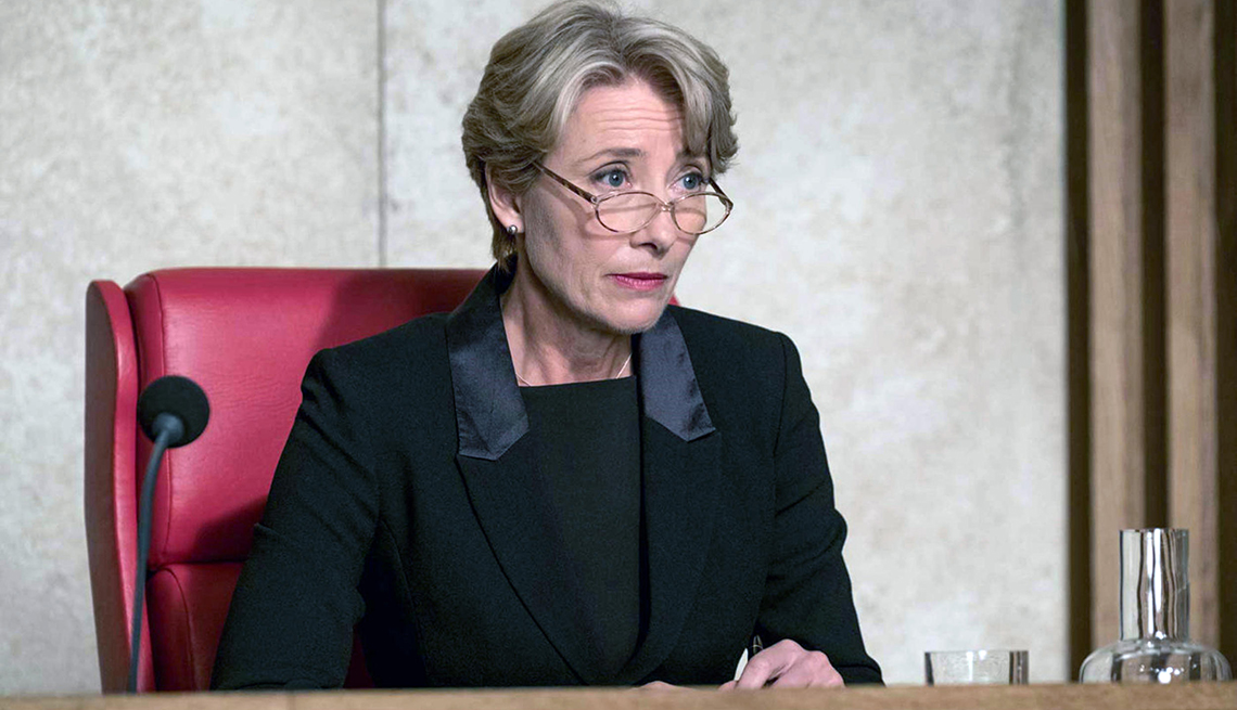"Emma Thompson as Judge Fiona Maye in ""The Children Act."