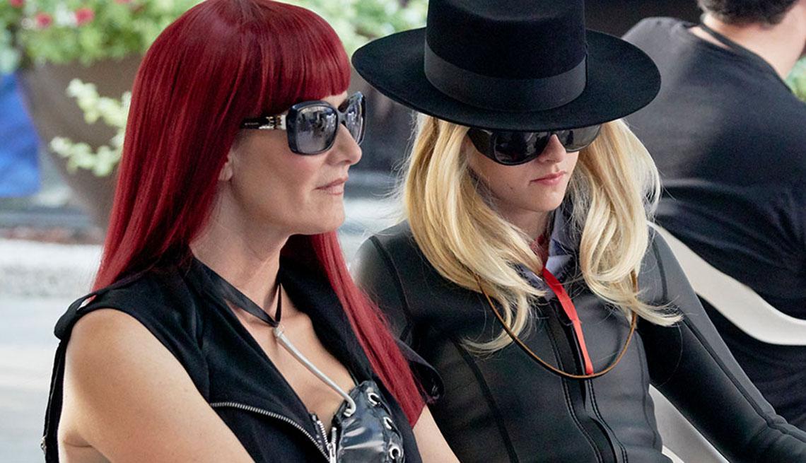 """Laura Dern, Kristen Stewart in """"Jeremiah Taylor Leroy"""""""