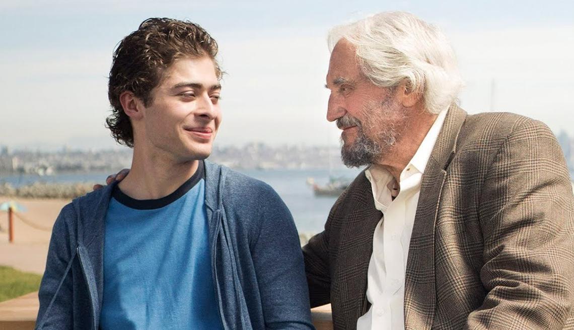 Ryan Ochoa, Hal Linden in 'The Samuel Project'