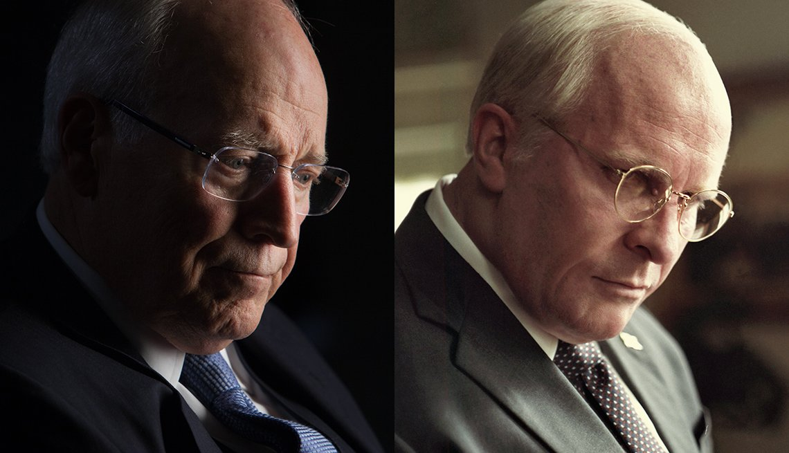 item 1, Gallery image. El vicepresidente Dick Cheney; Christian Bale interpretando a Cheney.