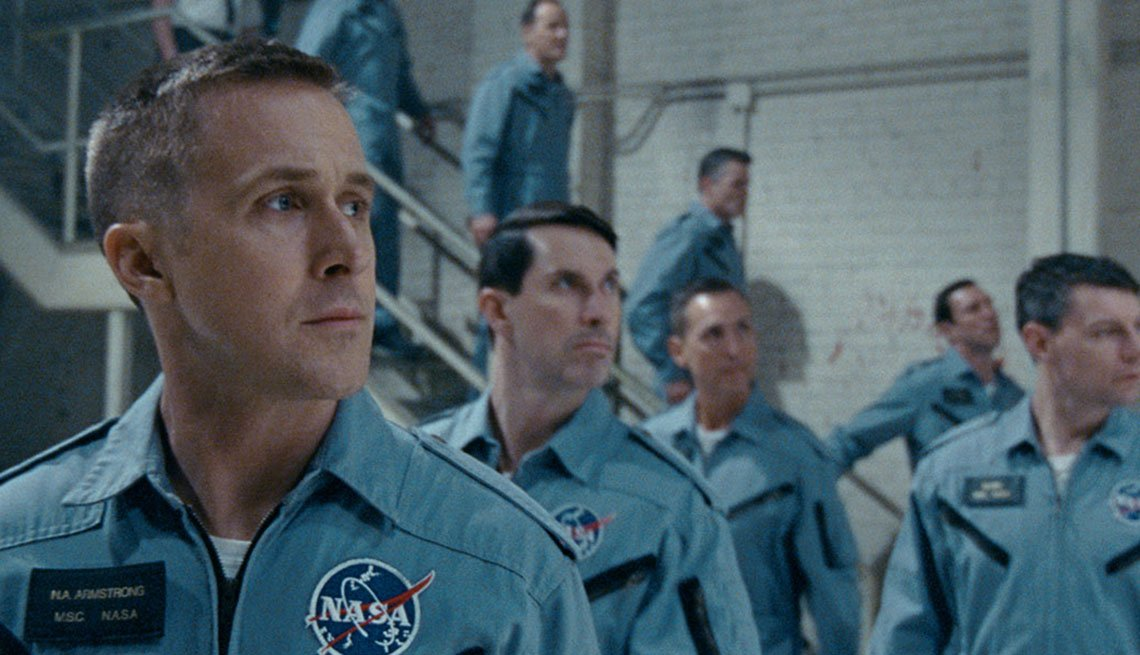 Ryan Gosling as Neil Armstrong in 'First Man'