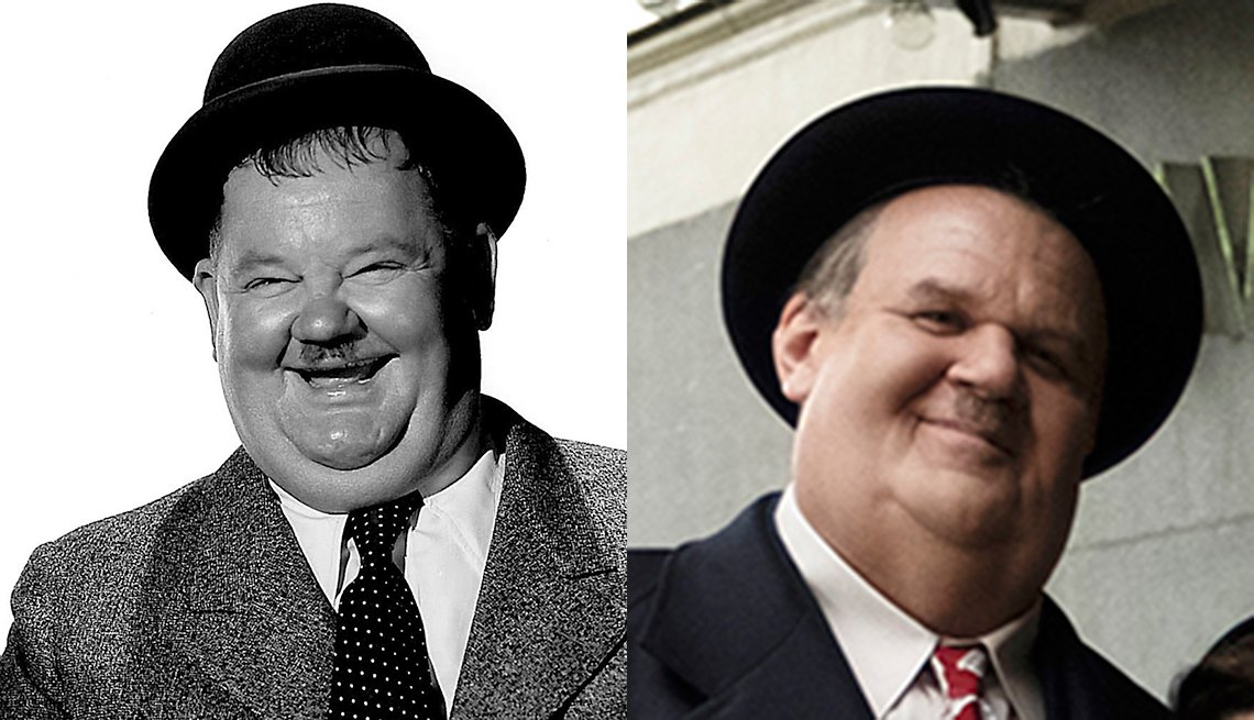 item 9, Gallery image. Oliver Hardy; John C. Reilly as Hardy