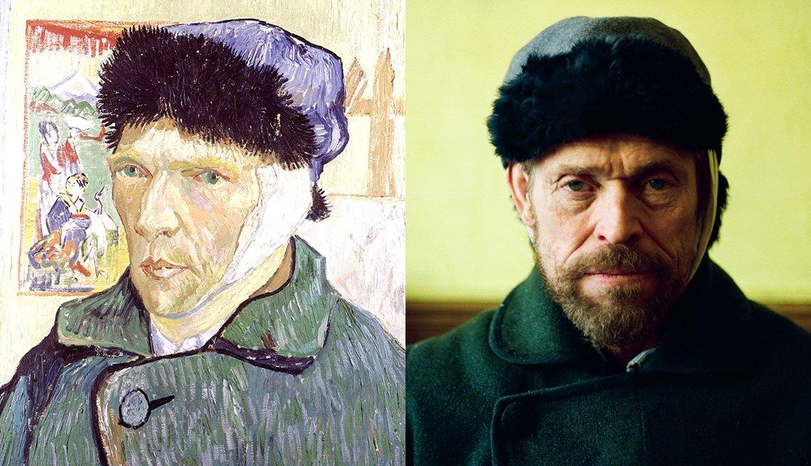 item 6, Gallery image. Retrato del artista Vincent Van Gogh; Willem Dafoe interpretando a Van Gogh..