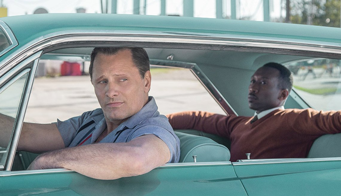 Viggo Mortensen, Mahershala Ali in Green Book