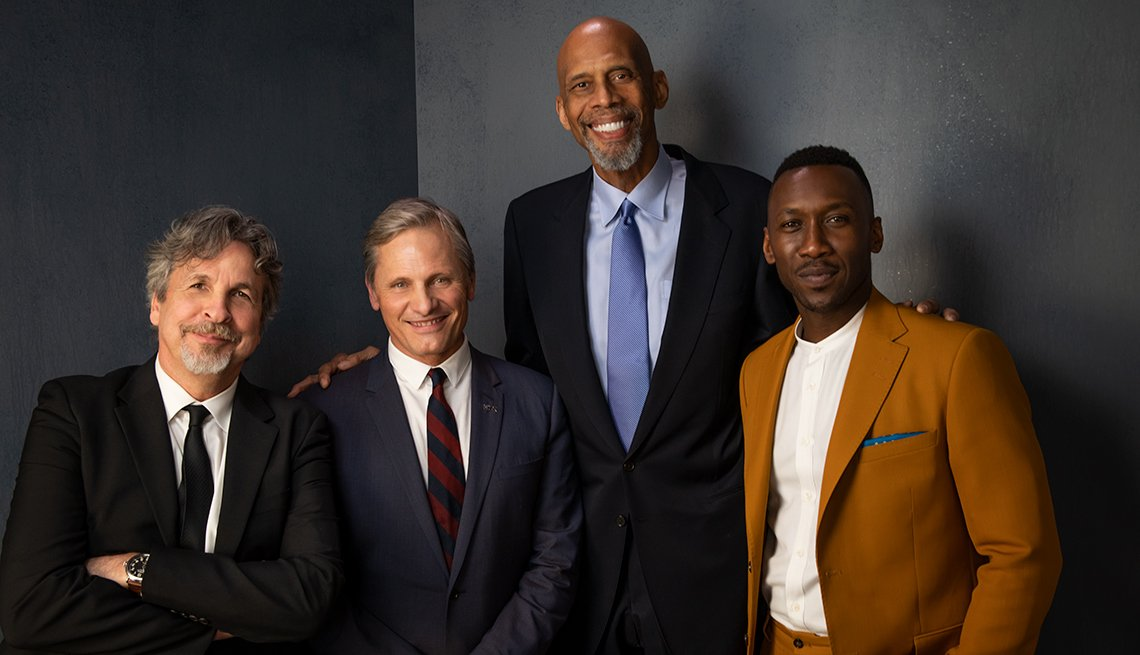 item 2 of Gallery image - Peter Farrelly, Viggo Mortensen, Kareem Abdul-Jabbar, Mahershala Ali