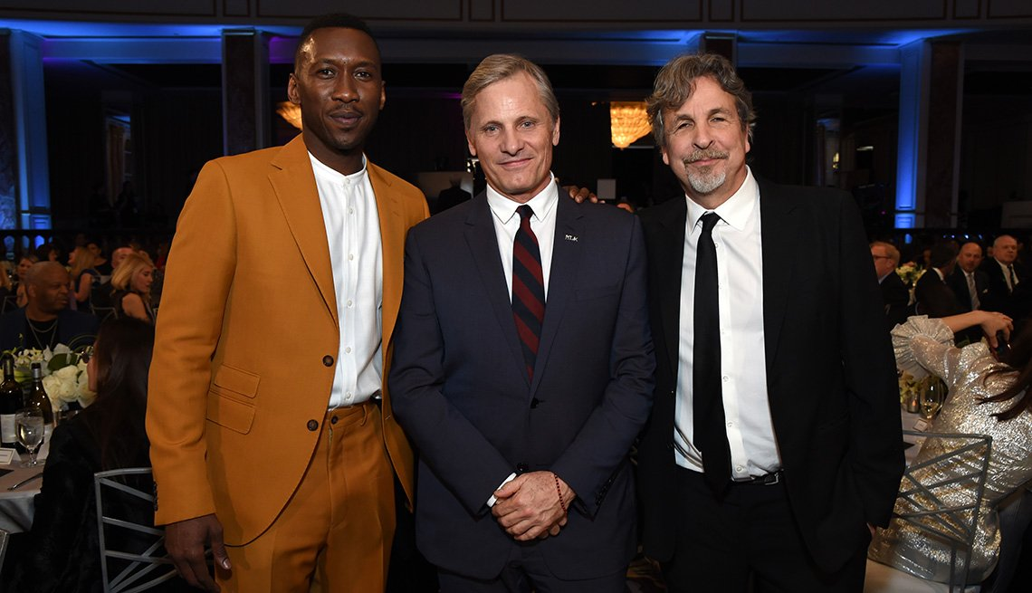 Mahershala Ali, Viggo Mortensen, and Peter Farrelly