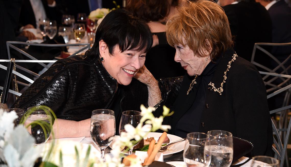 Kathy Bates and Shirley MacLaine
