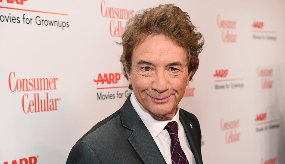 Martin Short is the host of the AARP 18th Annual Movies for Grownups Awards.
