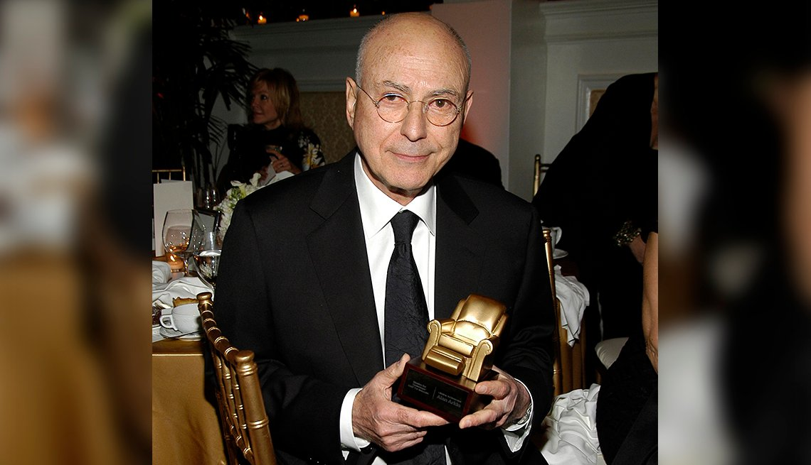 item 12 of Gallery image - Alan Arkin with his Movies for Grownups Award