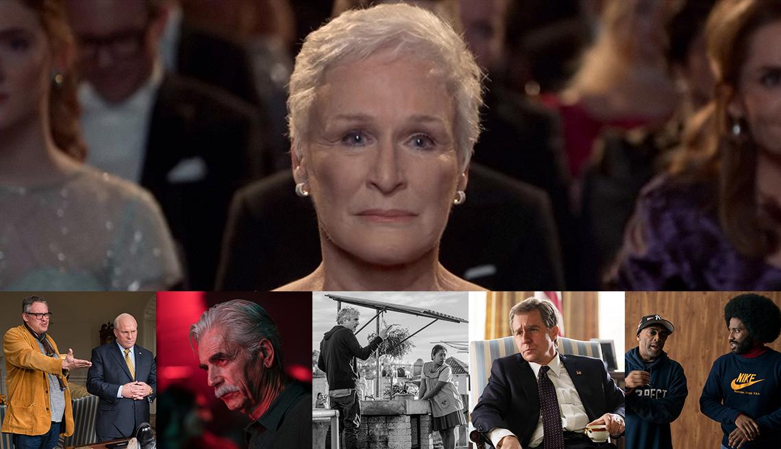 2018 Oscar nominees: Glenn Close, Spike Lee, Sam Rockwell, Alfonso Cuaron, Sam Elliott, Adam McKay, Christian Bale