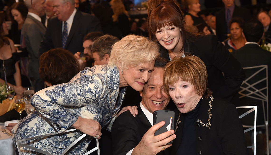 item 11 of Gallery image - Glenn Close, Richard E. Grant, Frances Fisher, and Shirley MacLaine