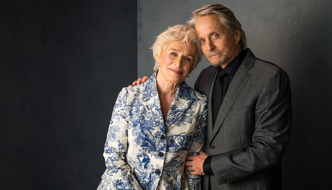 item 3 of Gallery image - Glenn Close and Michael Douglas