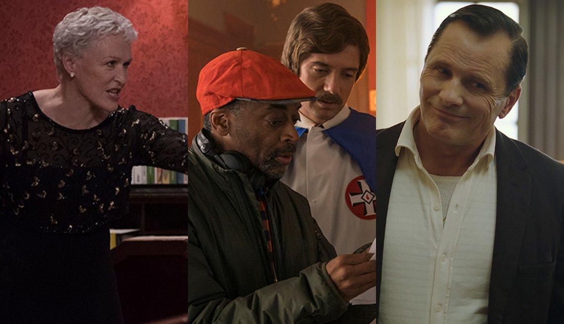 Photos of Glenn Close, Spike Lee,  Viggo Mortensen