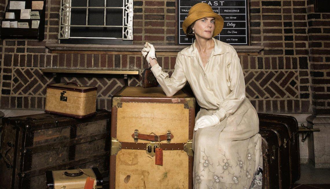 Elizabeth MCGovern in 'The Chaperone'