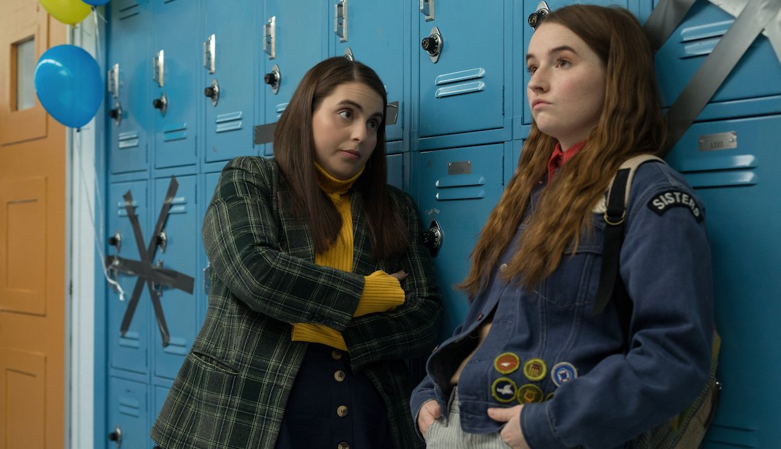 Beanie Feldstein stars as Molly and Kaitlyn Dever as Amy in Olivia Wilde's directorial debut, Booksmart