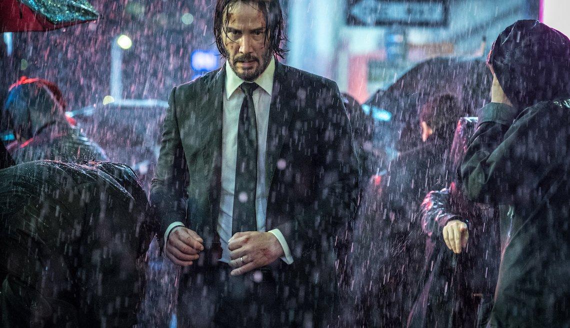 Keanu Reeves in 'John Wick 3: Parabellum'