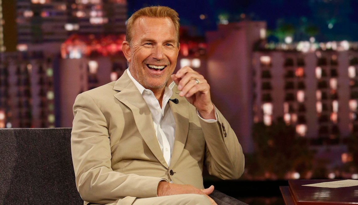 Kevin Costner on Jimmy Kimmel Live!', Friday, June 7, 2019.