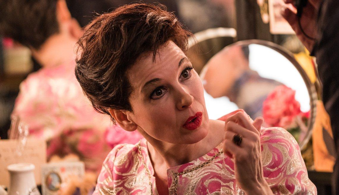 Renée Zellweger como Judy Garland en la película Judy.
