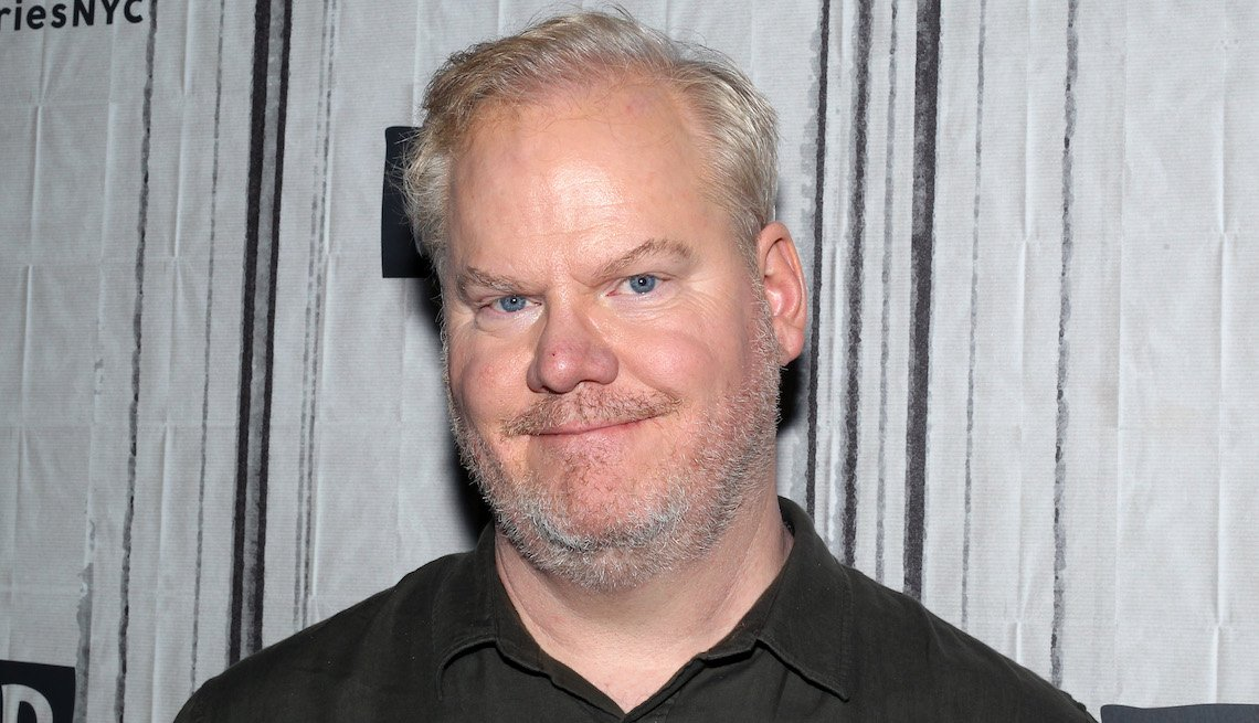 Comedian/actor Jim Gaffigan attends the Build Series to discuss