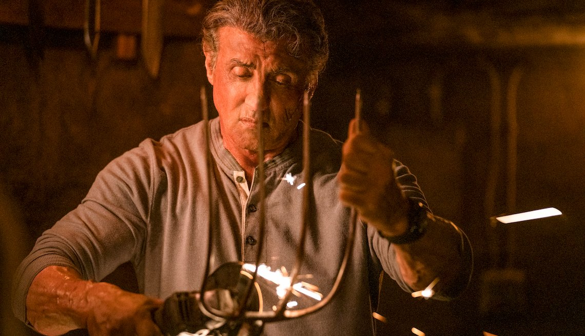 Sylvester Stallone stars as 'John Rambo' in Rambo V Last Blood.