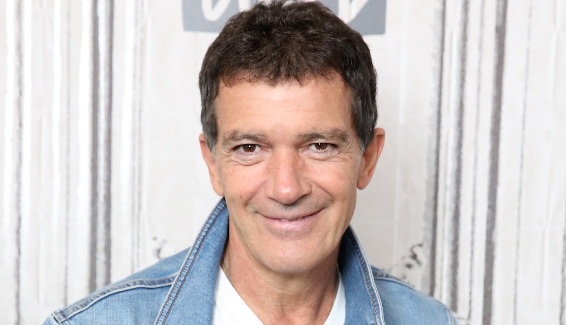 Actor Antonio Banderas visits the Build Series to discuss his new film