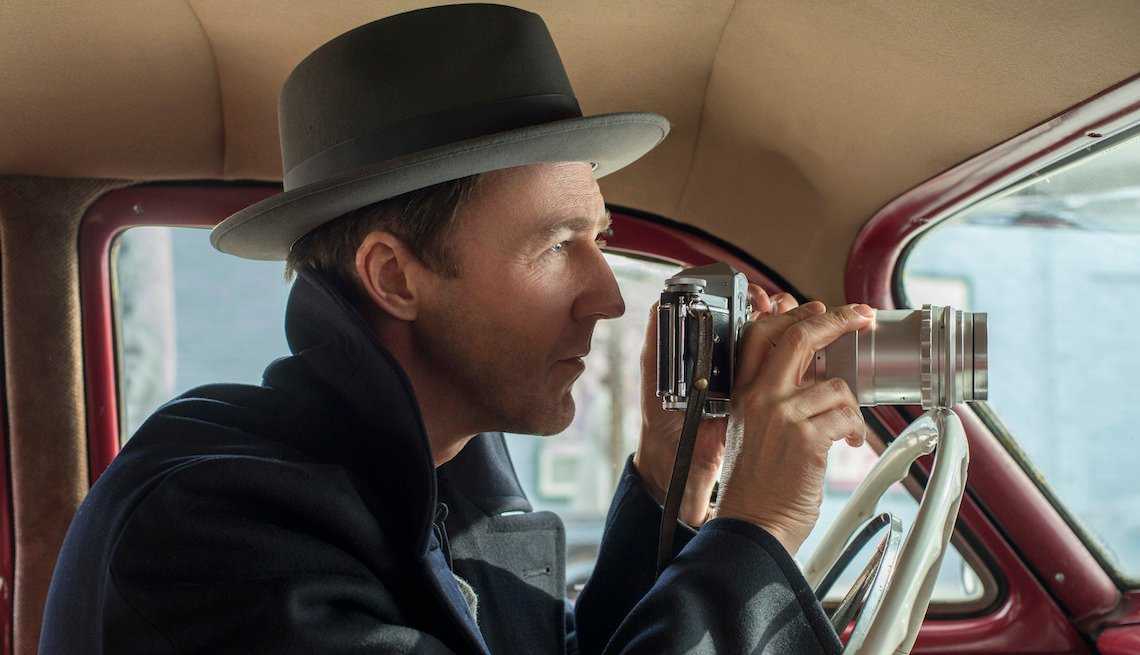 Edward Norton in a scene from 'Motherless Brooklyn'