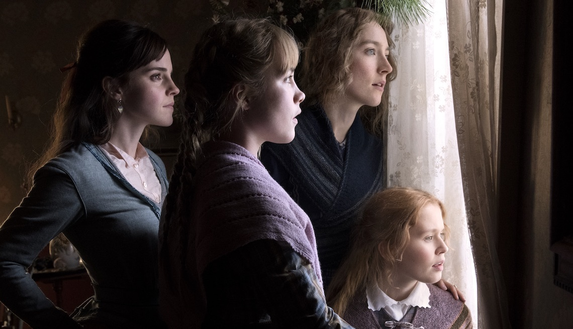 item 10 of Gallery image - Emma Watson, Saoirse Ronan, Eliza Scanlen and Florence Pugh in Columbia Pictures' LITTLE WOMEN.