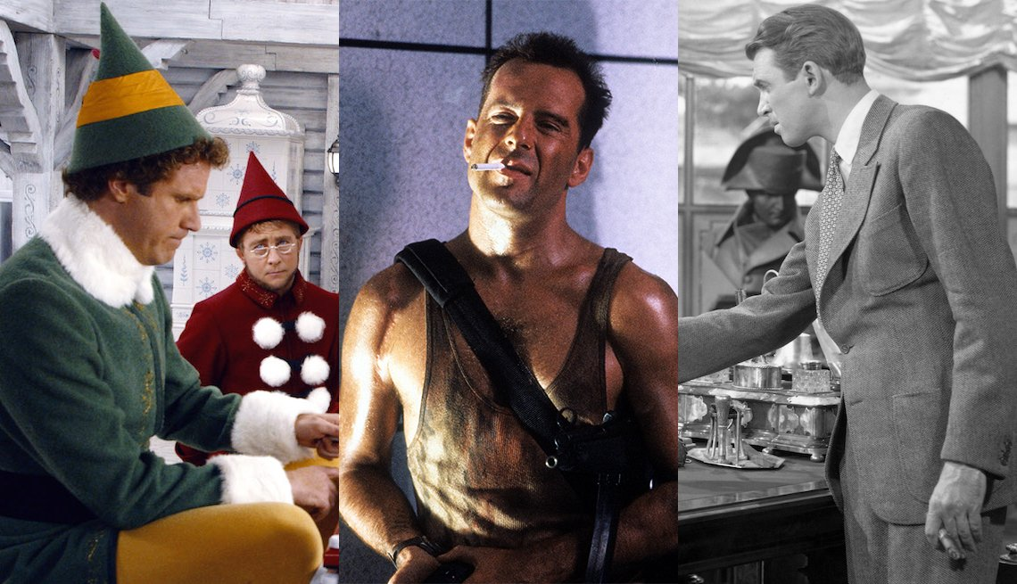 Elf, Die Hard, It's a Wonderful Life