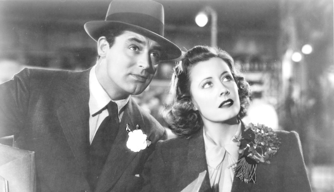 item 5 of Gallery image - Cary Grant and Irene Dunne in a scene from the film 'Penny Serenade', 1941.