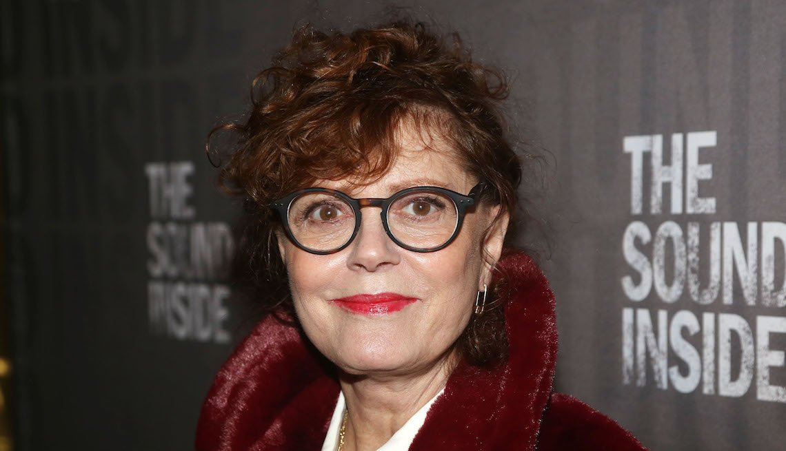 Susan Sarandon en la apertura de The Sound Inside, en Broadway, Nueva York, 2019.