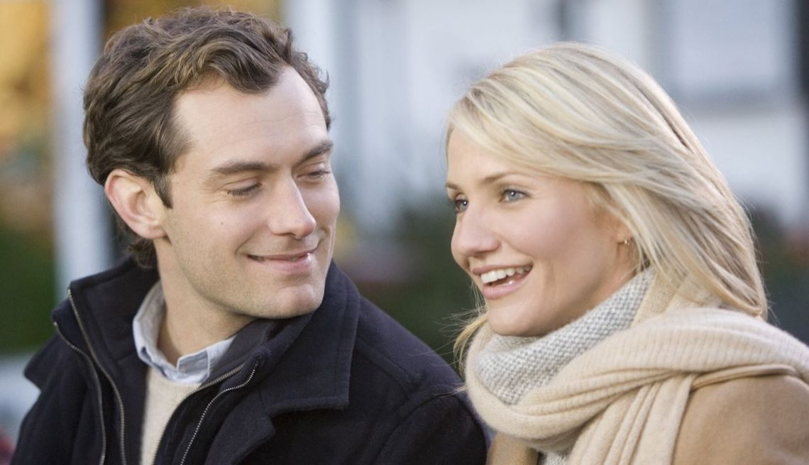 item 11 of Gallery image - Jude Law and Cameron Diaz in 'The Holiday'
