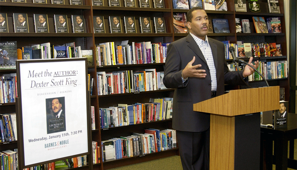 """item 6 of Gallery image - Dexter Scott King Book Signing His New Book """"Growing Up King"""" at Barnes & Noble at The Grove at Barnes & Noble at The Grove in Los Angeles, California"""