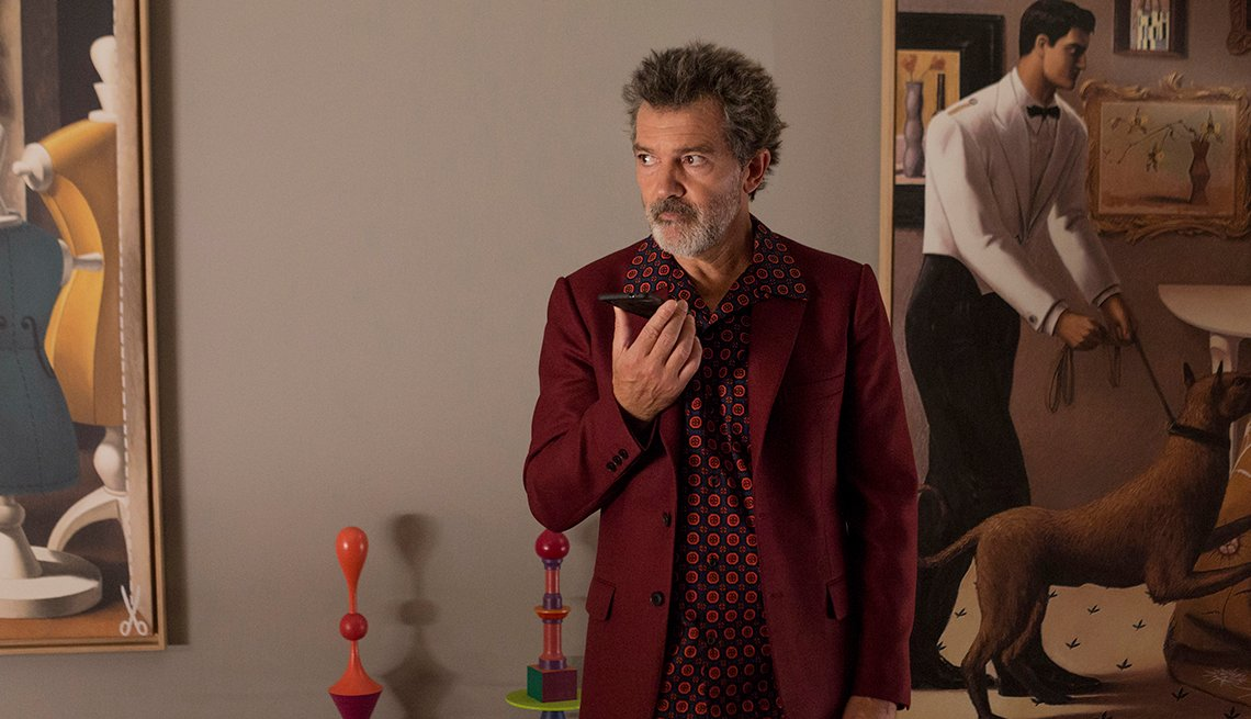 item 12 of Gallery image - A photo of Pedro Almodovar in the film Pain and Glory