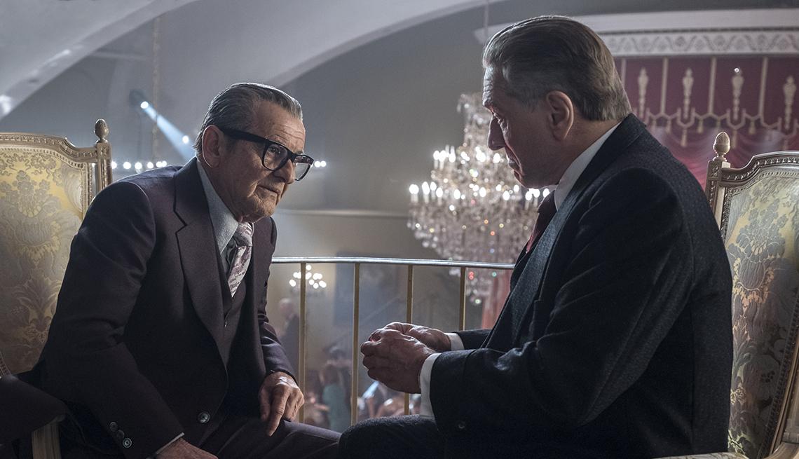 item 2 of Gallery image - Joe Pesci and Robert De Niro in The Irishman