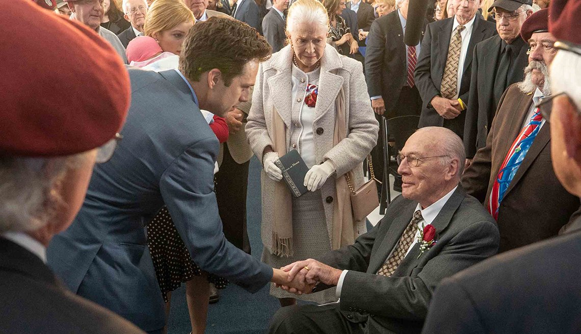 Sebastian Stan Diane Ladd and Christopher Plummer star in the film The Last Full Measure