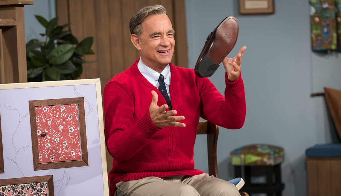 item 6 of Gallery image - Tom Hanks stars as Mister Rogers in A Beautiful Day in the Neighborhood