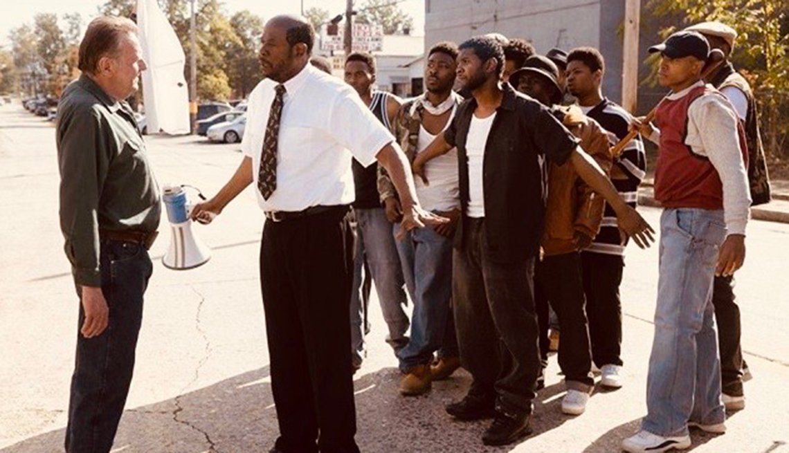 A scene from the film Burden starring Forest Whitaker