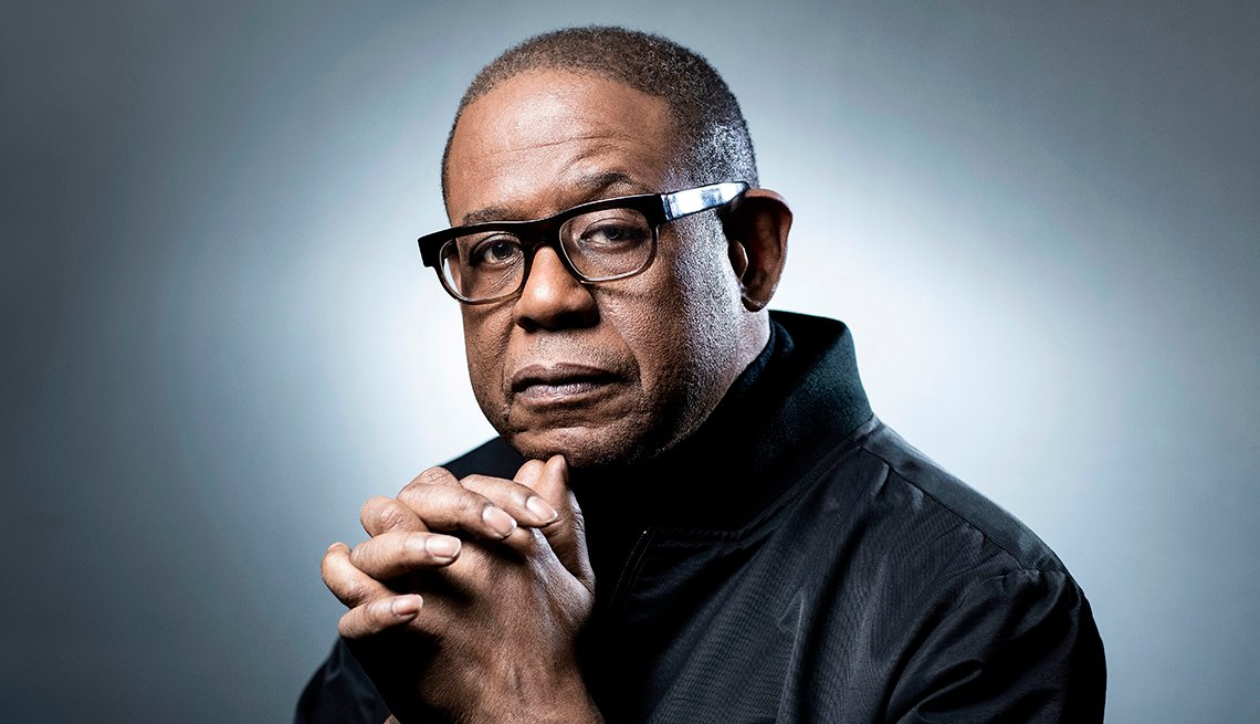 Actor Forest Whitaker poses during a session on December 14 2018 in Paris
