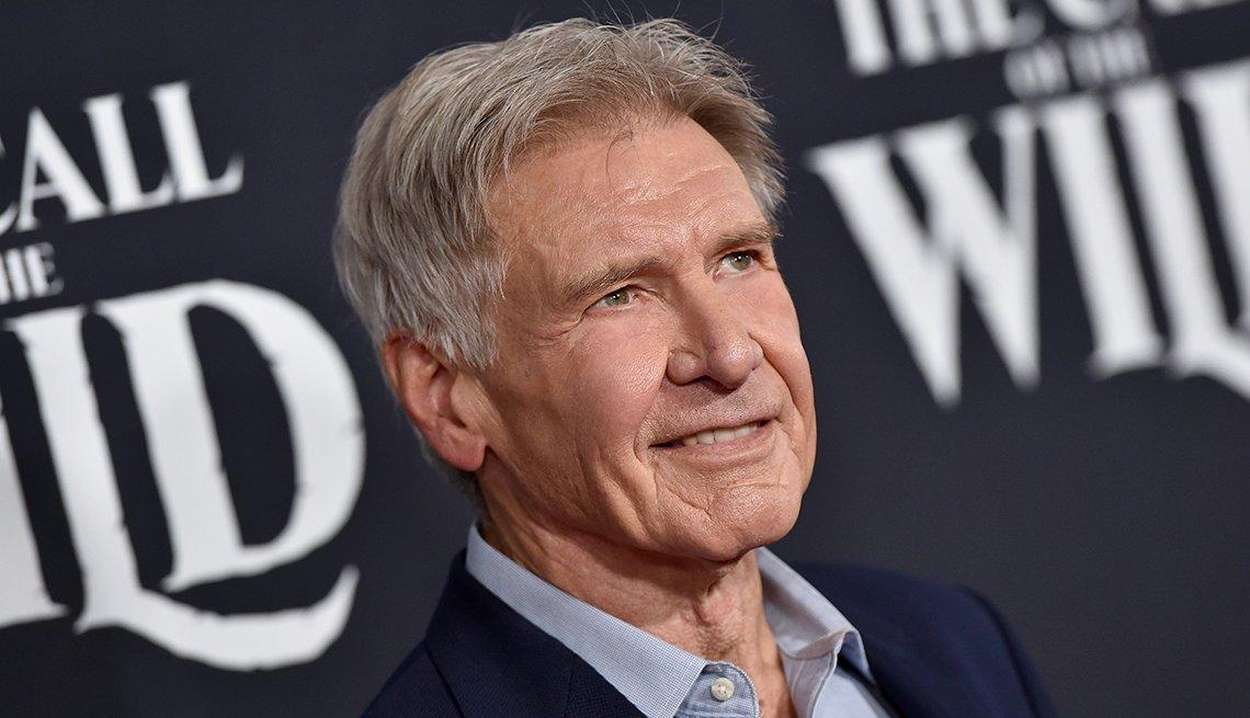Harrison Ford en la premier de la película The Call of the Wild, en el teatro El Capitan, Los Ángeles, febrero 2020.