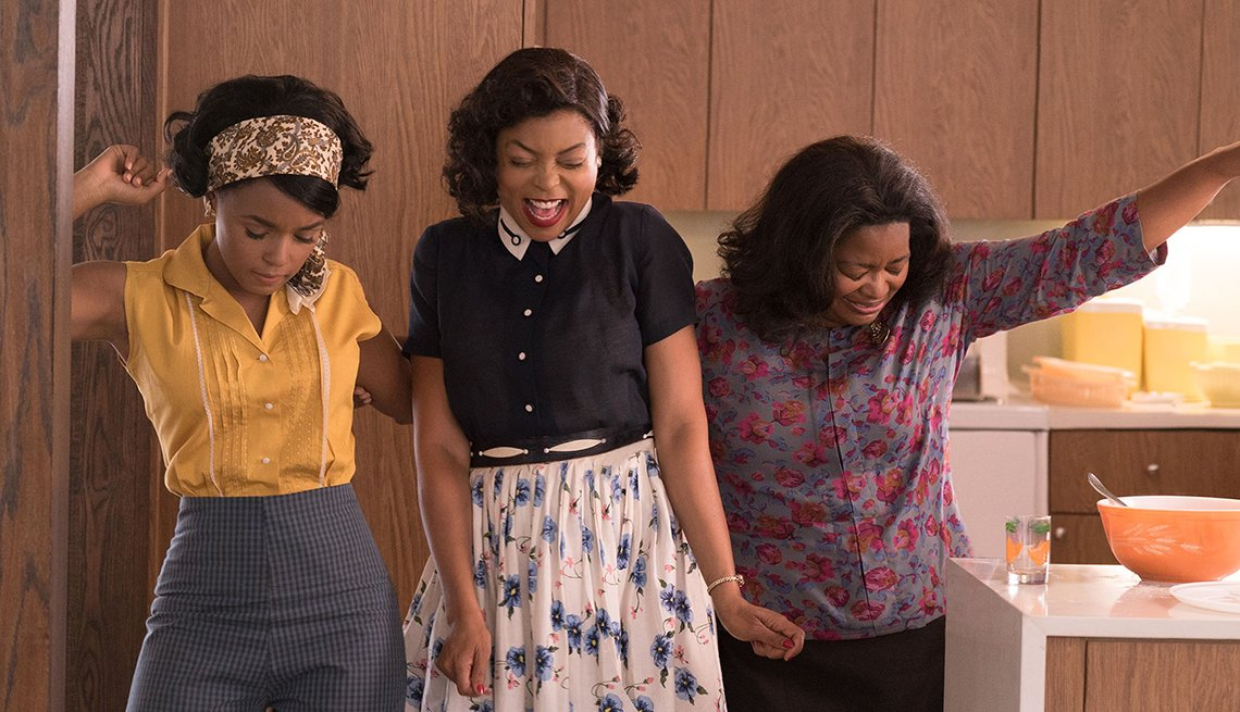 Janelle Monae Taraji P Henson and Octavia Spencer star in the film Hidden Figures