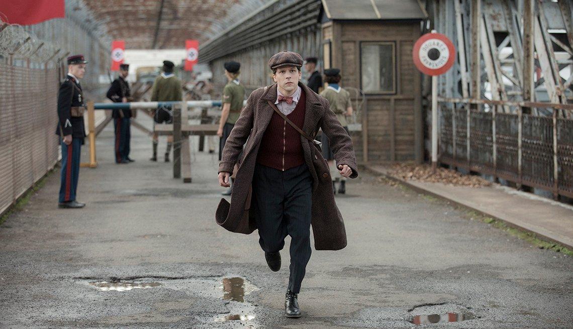 Jesse Eisenberg stars in the film Resistance